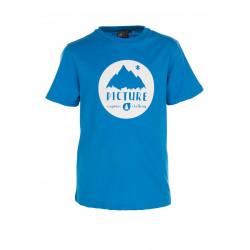 T-shirt Picture Organic Vinch Blue