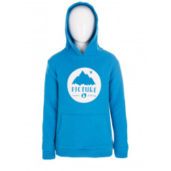 Sweat Capuche Picture Organic Smocy Blue