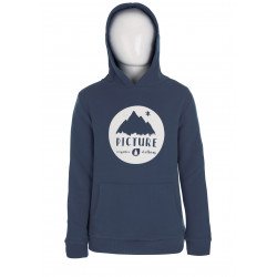 Sweat Capuche Picture Organic Smocy Dark Blue