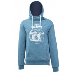 Sweat à Capuche Picture Organic Cross Petrol Blue