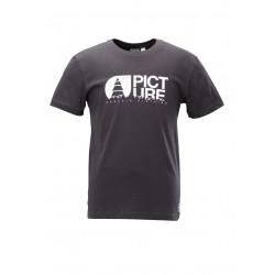 T-shirt Picture Organic Basement Topo Black