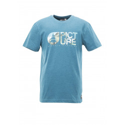 T-shirt Picture Organic Basement Styx Petrol Blue
