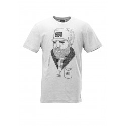 T-shirt Picture Organic Barnston Grey