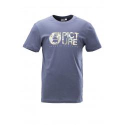 T-shirt Picture Organic Opal Dark Blue