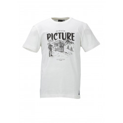 T-shirt Picture Organic Shelter White
