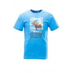 T-shirt Picture Organic Moose Blue