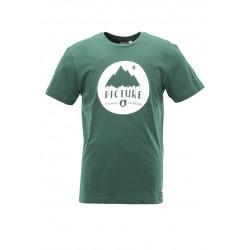 T-shirt Picture Organic Revard Dark Green