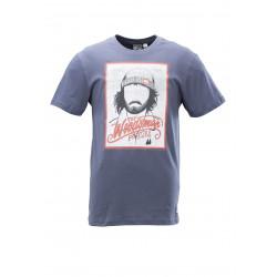 T-shirt Picture Organic Woodman Dark Blue