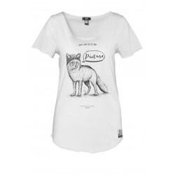 T-shirt Picture Organic Fox White