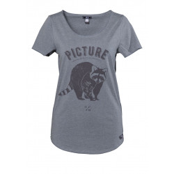 T-shirt Picture Organic Page Anthracite