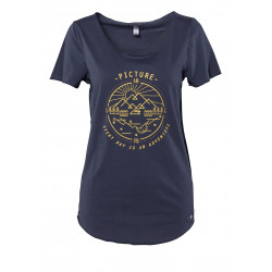 T-shirt Picture Organic Every Day Dark Blue