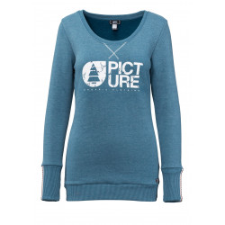 Sweat Picture Organic Glass Petrol Blue