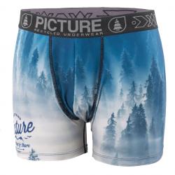 Boxer Picture Organic Fog Blue