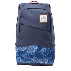 Sac A Dos Picture Organic Home 2 Dark Blue Topographic