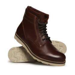Chaussures Superdry Stirling Sleek Dark Chestnut