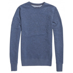 Sweat Superdry Premium Goods Crew Twilight Blue