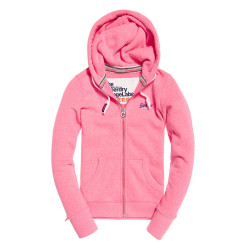 Sweat à Capuche Superdry Orange Label Primary Pink