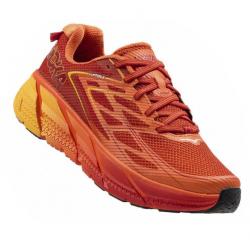 Chaussures De Running Hoka One One Clifton 3 Red Orange