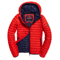 Doudoune Superdry Core Down Hooded Red