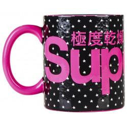 Tasse Superdry Super Logo Mug Black Star / Pink