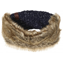 Bandeau Superdry Nebraska Headband Navy Sparkle