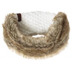 Bandeau Superdry Nebraska Headband Cream Sparkle