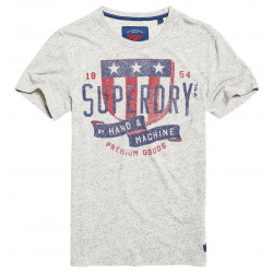 T-shirt Superdry The Craftsman Granit Grey Snowy