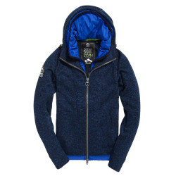 Sweat Capuche Superdry Storm Blizzard Ink Heather