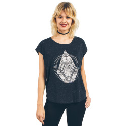 T-Shirt Volcom Stay Cosmic CT Black