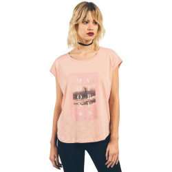 T-Shirt Volcom Stay Cosmic CT Mellow Rose