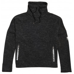 Sweat Superdry Sport Gymtech Luxe Funnel Black