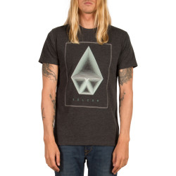 T-Shirt Volcom Concentric hth ss Heather Black