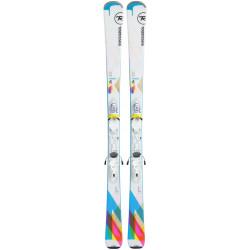 Pack Ski Femme Rossignol Famous 4 + Xpress 10
