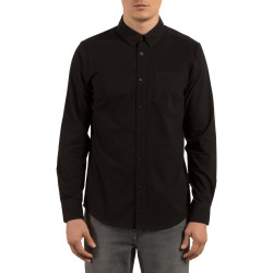 Chemise Volcom Oxford Stretch Black
