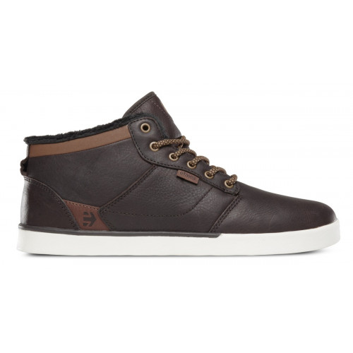 Chaussures Etnies Jefferson Mid Brown White