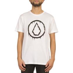 T-Shirt Volcom Sludgestone BSC SS White