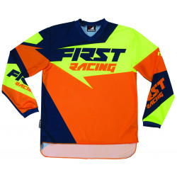 Maillot VTT / Moto First Racing Data 2017 Orange