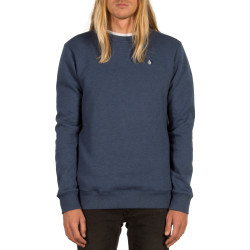 Sweat Volcom Sngl Stone Crew Smokey Blue