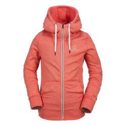 Sweat Volcom Cascara Fleece Flame Red