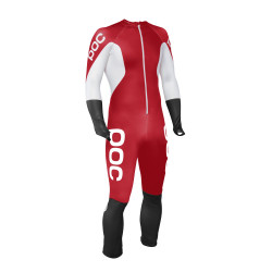 Combinaison Poc Skin Gs Bohrium Red/Hydrogen White