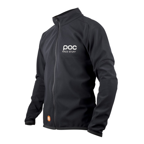 VESTE SOFTSHELL POC RACE JACKET URANIUM BLACK