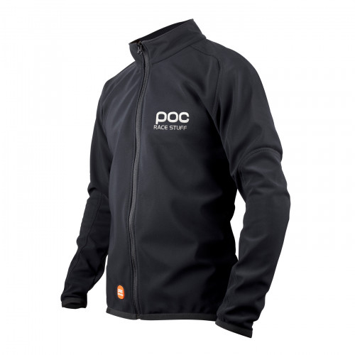 VESTE SOFTSHELL POC RACE JACKET JR URANIUM BLACK