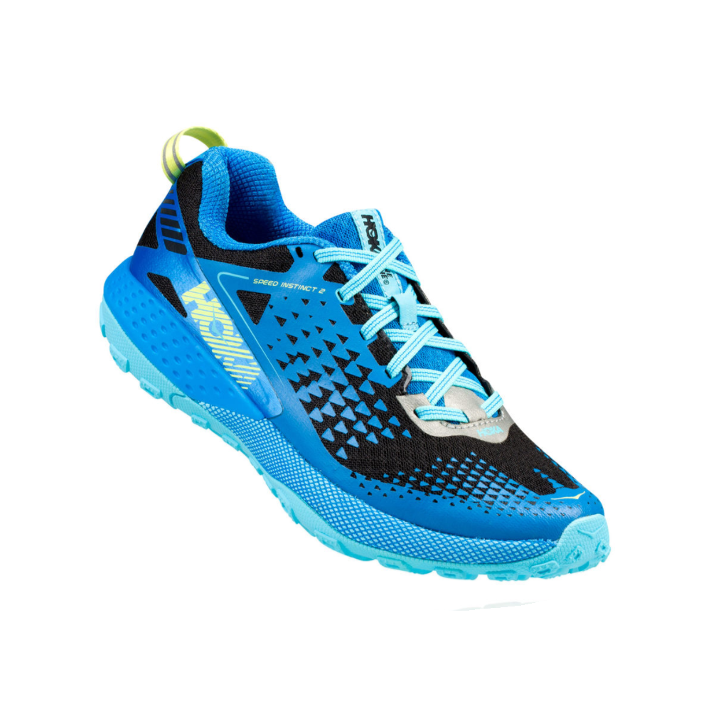 Trail schuhe hoka one one speed instinct Blau aster