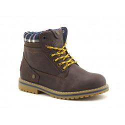 Chaussures Wrangler Creek Jr Dark Brown