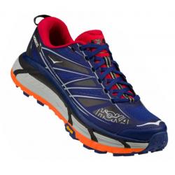 Chaussures Hoka One One Mafate Speed 2 Blue Print
