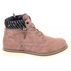 Chaussures Wrangler Creek Zip Girl B Winter Rose