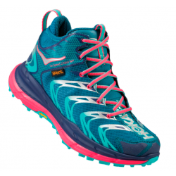 Chaussures De Running Hoka One One Tor Speed Blue Coral