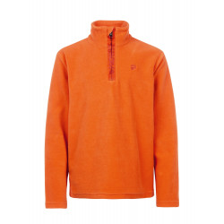 Polaire Protest Perfecty Jr 1/4 zip Bright Orange