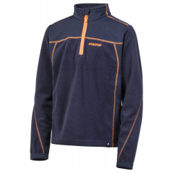 Polaire Protest Adek Jr 1/4 Zip Ground Blue