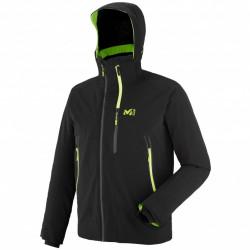 Veste De Ski Millet 7/24 Stretch Jkt Black / Acid Green